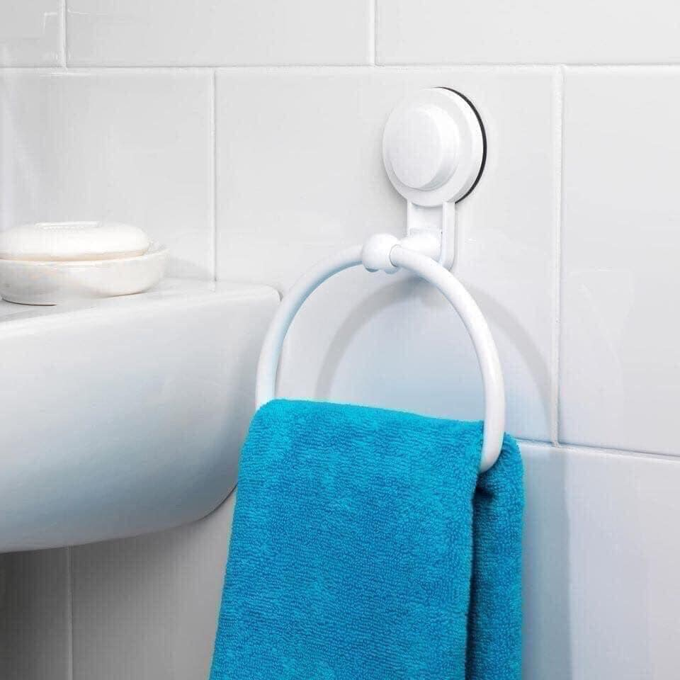 Plastic towel holder