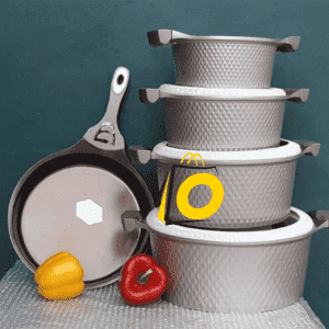 Classic Non-Stick Cookware Set 10 Pcs