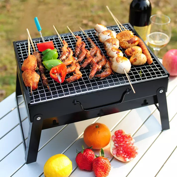 Portable Stainless Steel Barbecue Grill Pits