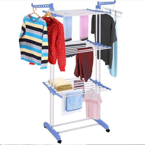 3 Layer Laundry Drying Rack