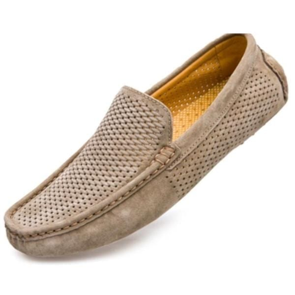 Brown knitted Men shoe