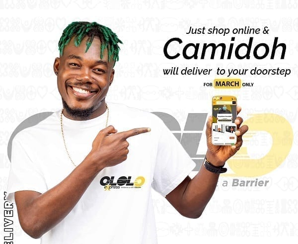 Camidoh is delivering from ololoexpress 6