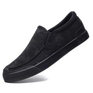 dark camouflage Men Slip On Loafer