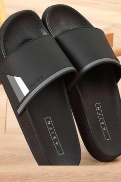 soft inner black slides