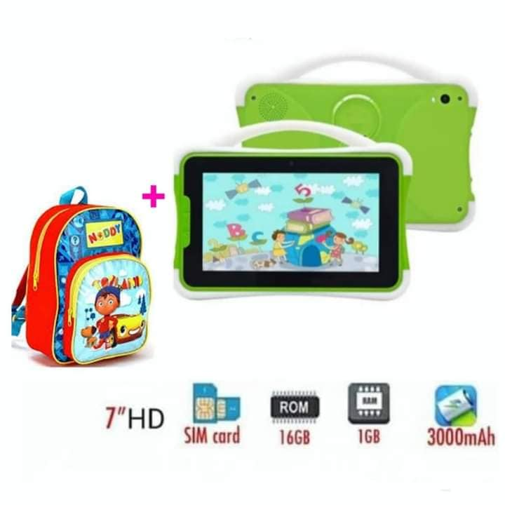 Kids Tablet 7inch plus Back pack
