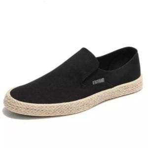 Men Slip On Loafer black 5