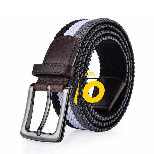 nice woven belt with hook