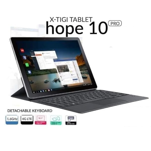 xtigi tablet hope 10 pro 1.6ghz 4G LTE 10.1 inches
