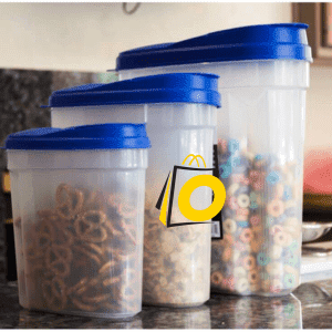 Plastic cereal Container