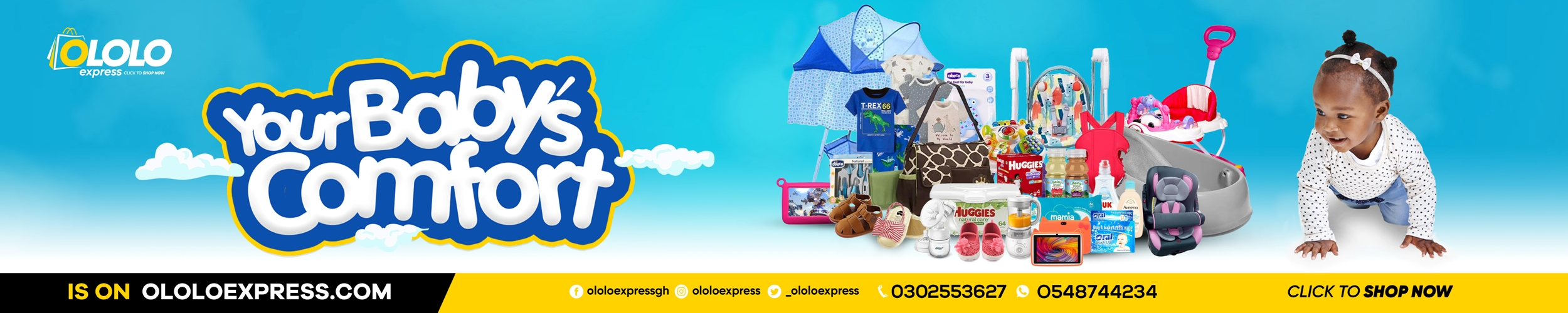 Baby products on ololoexpress