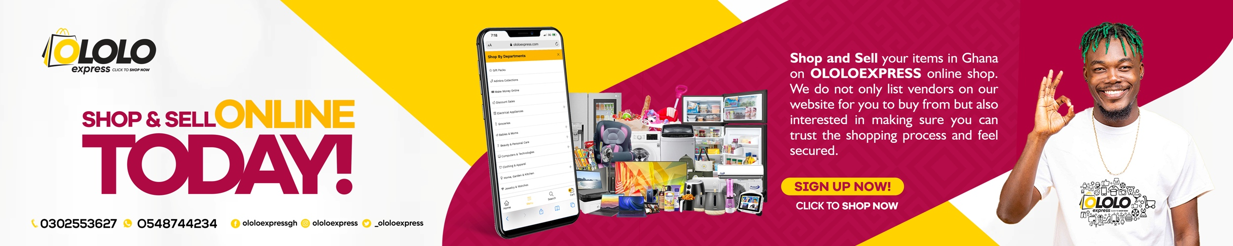 shop and sell on ololoexpress